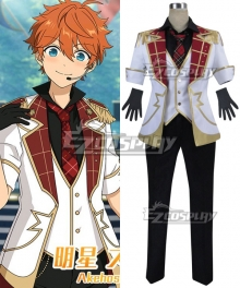 Ensemble Stars Judge! Black and White Duel Subaru Akehoshi Makoto Yuuki Cosplay Costume