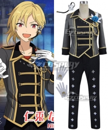 Ensemble Stars Reliable Villain Nito Nazuna Cosplay Costume