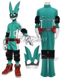My Hero Academia Boku no Hero Akademia Izuku Midoriya Deku Cosplay Costume