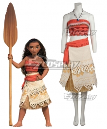Disney Animation Moana Deluxe Version Cosplay Costume