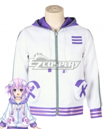 Hyperdimension Neptunia Neptune Coat Cosplay Costume