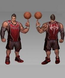 League of Legends Darius Cosplay Costume