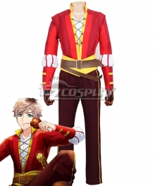 A3! AUTUMN Romeo and Juliet Tsuzuru Minagi Red Cosplay Costume