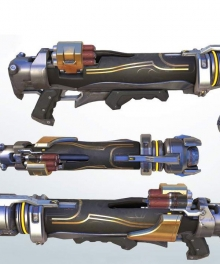 Overwatch OW Pharah's Primary Weapon Cosplay Weapon Prop
