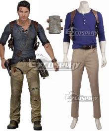 Uncharted 4 A Thief''s End Nathan Drake Cosplay Costume