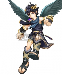 Kid Icarus: Uprising Dark Pit Cosplay Costume