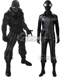 Spiderman Spider-Man Noir Spider Man Noir Cosplay Costume