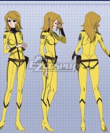 Space Battleship Yamato 2199 Yuki Mori Cosplay Costume