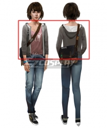 Life Is Strange Maxine Caulfield Cosplay Costume - Only Underwear, Coat