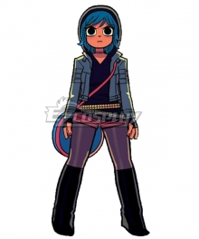 Scott Pilgrim vs. the World Ramona Flowers Cosplay Costume