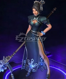 Heroes of the Storm Lunar Festival Jaina Cosplay Costume