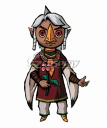The Legend of Zelda: The Wind Waker Komali Cosplay Costume - Only shirt and coat