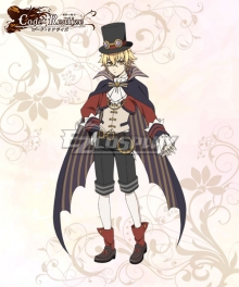 Code: Realize Guardian of Rebirth Delacroix II Cosplay Costume