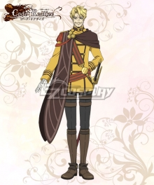 Code: Realize Guardian of Rebirth Rempart Leonhardt Cosplay Costume