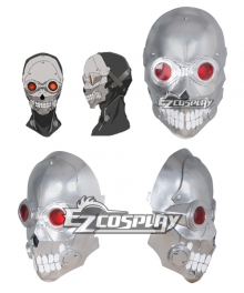 Sword Art Online II GGO Gun Gale Online Shinkawa Shouichi's Creation Death Gun Desu Gan Sterben Mask Cosplay Accessory