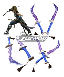 Dissidia Final Fantasy Zidane Tribal Cosplay Weapon