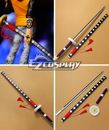One Piece Supernova Death Surgeon Trafalgar Law Cosplay Weapon