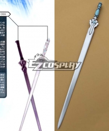 Sword Art Online ALfheim Online Notre Dame Chant Articles SAO Yuuki Asuna Erika Fine Sword Flashing Light A Cosplay Weapon