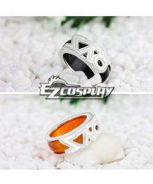 Sword Art Online Double Ring Agate Pendants