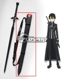 Sword Art Online SAO Sodo Ato Onrain ALfheim Online SAO ALO Kirigaya Kazuto Kirito Sword Cosplay Prop Only Scabbard