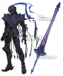 Fate Zero Lancelot Berserker Sword Cosplay Weapon