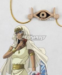 Yu-Gi-Oh Yugioh Duel Monsters Isis Ishtar Necklace Cosplay Prop