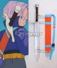 Dragon Ball Trunks Sword Weapon Cosplay Prop