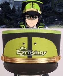 Seraph of the End Owari no Serafu Japanese Imperial Demon Army Hat Cosplay Accessory Prop