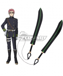 Seraph of the End Vampire Reign Owari no Serafu Shiho Kimizuki Two Swords Weapons Cosplay Prop