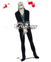 Gangsta Gyangusuta Worick Arcangelo Handgun Cosplay Weapon