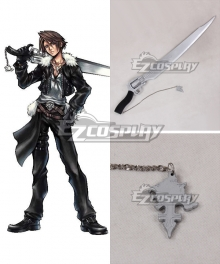Final Fantasy VIII Squall Leonhart Gun blade Cosplay Weapon Prop