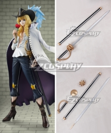 One Piece Cavendish Sword Cosplay Weapon Prop