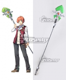 The Legend of Heroes: Trails of Cold Steel Eliot Craig Staves Cosplay Weapon Prop