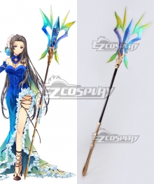 The Legend of Heroes: Trails of Cold Steel Vita Clotilde Staves Cosplay Weapon Prop