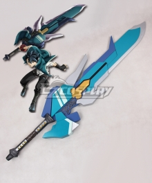 God Eater Lenka Utsugi Jinki Swords Cosplay Weapon Prop