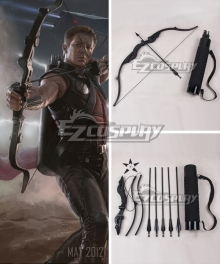 Marvel's The Avengers Hawkeye Clint Barton Bow and arrow Cosplay Weapon Prop