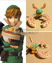 The Legend of Zelda Skyward Sword Link Cuff Cosplay Weapon Prop