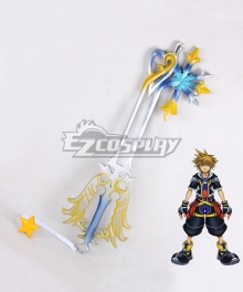 Kingdom Hearts Sora Roxas Oathkeeper New Keyblade Cosplay Weapon Prop