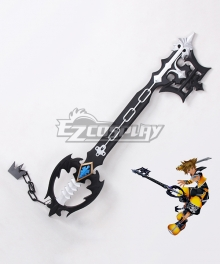 Kingdom Hearts Sora Roxas Xion Oblivion Keyblade Black Cosplay Weapon Prop