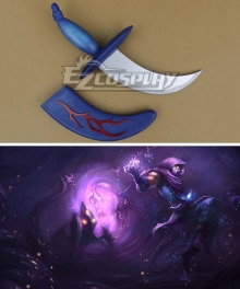 League of Legends Classic Malzahar The Prophet Of The Void Dagger Cosplay Weapon Prop