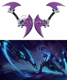 League of Legends Soul Reaver Draven The Glorious Executioner Sickle Cosplay Weapon Prop