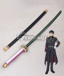 Seraph of the End Battle in Nagoya Owari no Serafu Vampire Reign Kureto Hiragi Sword Cosplay Weapon Prop