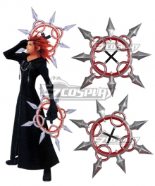 Kingdom Hearts Organization XII Number VIII Lea Axel Cosplay Weapon Prop