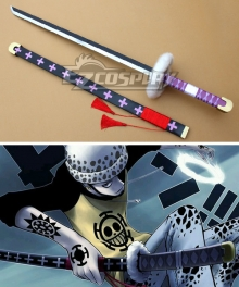 One Piece Trafalgar Law Trafalgar D Water Law Sword Cosplay Weapon Prop