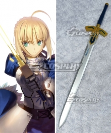 Fate Stay Night Fate Zero Saber Artoria Pendragon King Arthur Sword Cosplay Weapon Prop