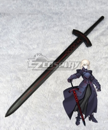 Fate Stay Night Black Saber Altria Pendragon King Arthur Sword Cosplay Weapon Prop