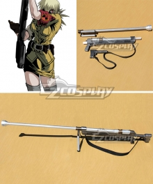 Hellsing Seras Victoria Gun Cosplay Weapon Prop