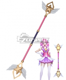 League of Legends Star Guardian Lux Cosplay Weapon Prop