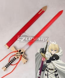 Seraph of the End Mikaela Hyakuya Sword Cosplay Weapon Prop