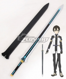 Sword Art Online Ordinal Scale Kirigaya Kazuto Kirito Movie Sword Blue Cosplay Weapon Prop
